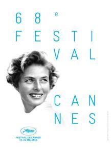 Cartel del 68º Festival de Cannes.