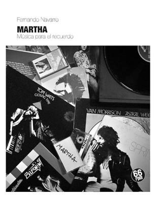 """Portada de """"Martha"""" de Fernando Navarro."""