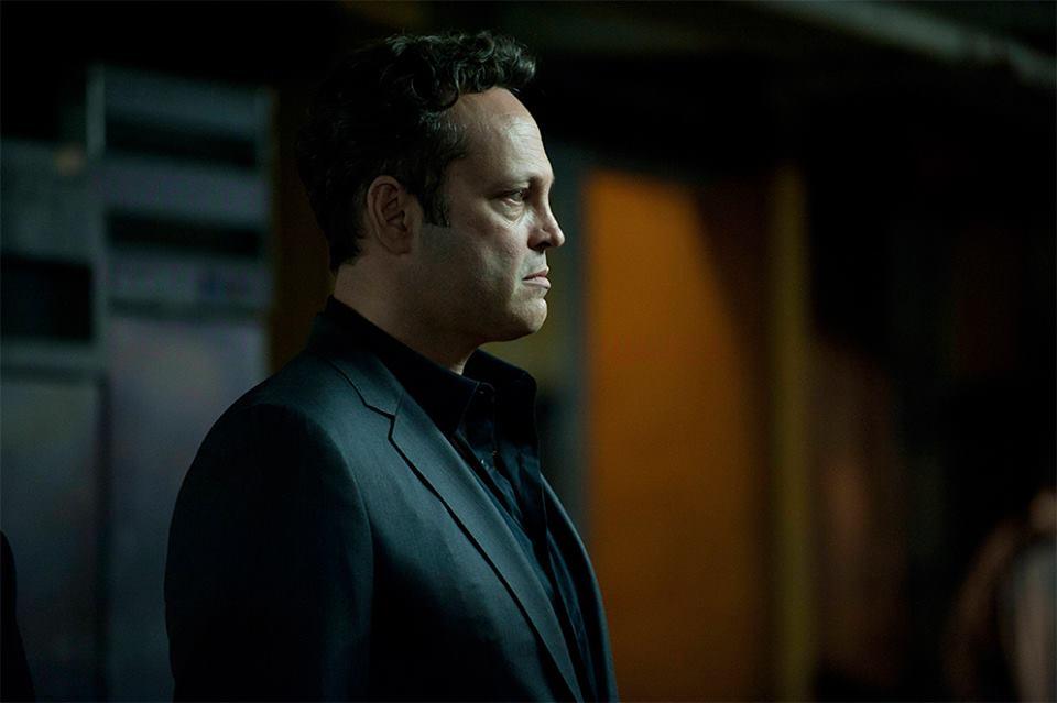 """Vince Vaughn en el papel de Frank Semyon en la segunda temporada de """"True Detective""""."""