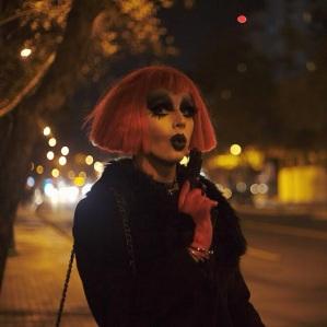 """Nicolás Videla, codirector del film chileno """"Naomi Campbel""""."""