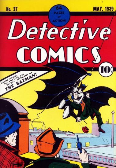 Detective Comics nº27, primera aparición de Batman.