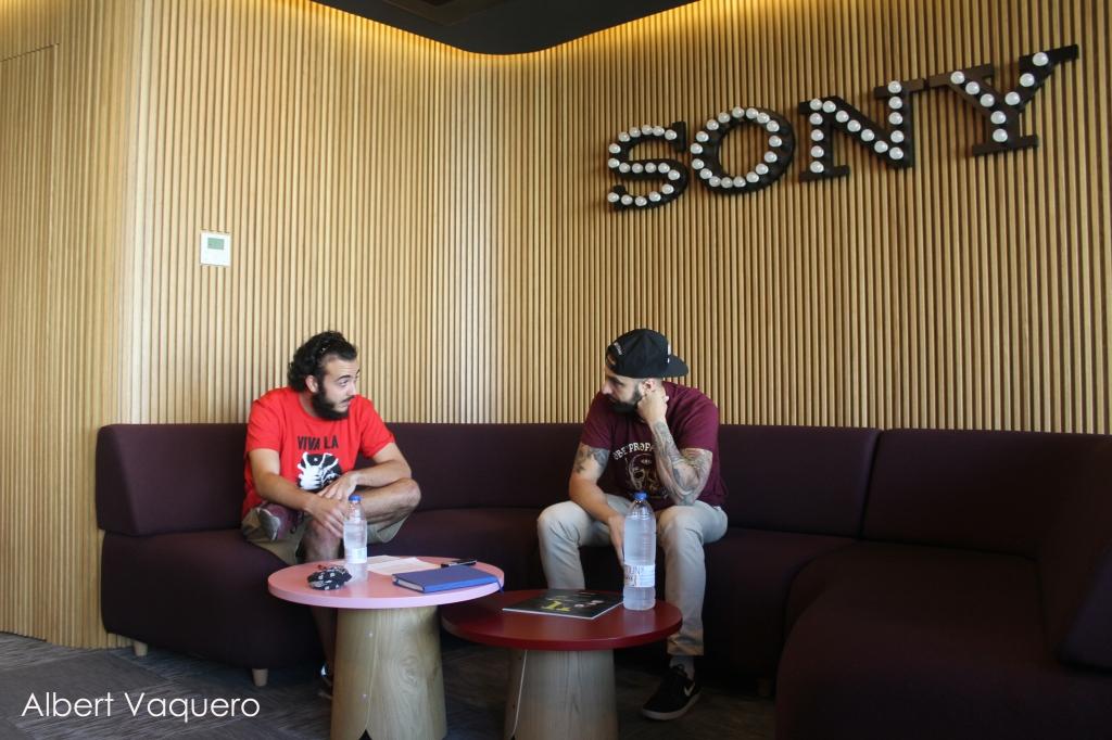 Entrevista a Tote King en las oficinas de Sony Music
