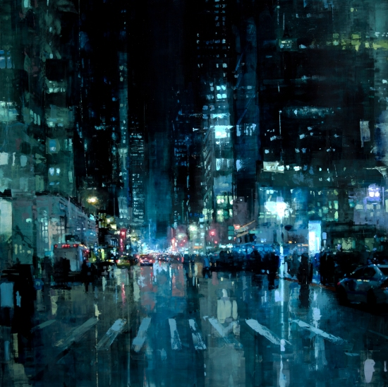 """Manhattan nights"" por Jeremy Mann"