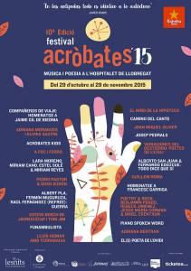 Cartel de Acròbates 2015.