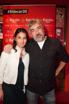 May González y Alfred Crespo, al frente de 66 RPM Edicions.
