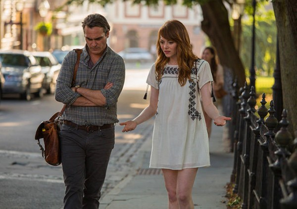 "Fotograma de la película ""Irrational Man"" (Sony Pictures / Gravier Productions) de Woody Allen."