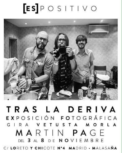 """Cartel de la exposición """"Tras la deriva""""."""