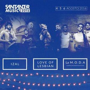 Primer adelanto de Santander Music Festival 2016.