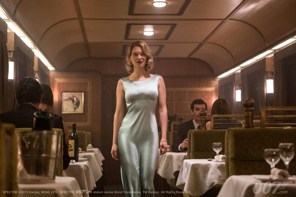 "Léa Seydoux como Madeleine Swann en ""Spectre"" (MGM / Columbia Pictures / Albert R. Broccoli / Eon Productions)."