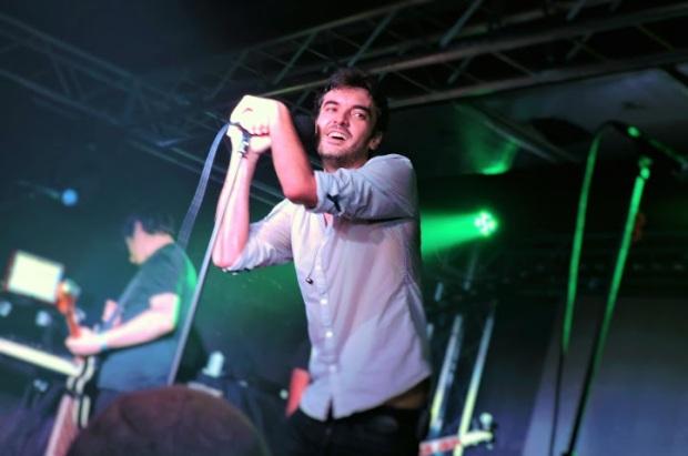 Sean Frutos, cantante de la banda murciana Second. Foto: Angie Capel.