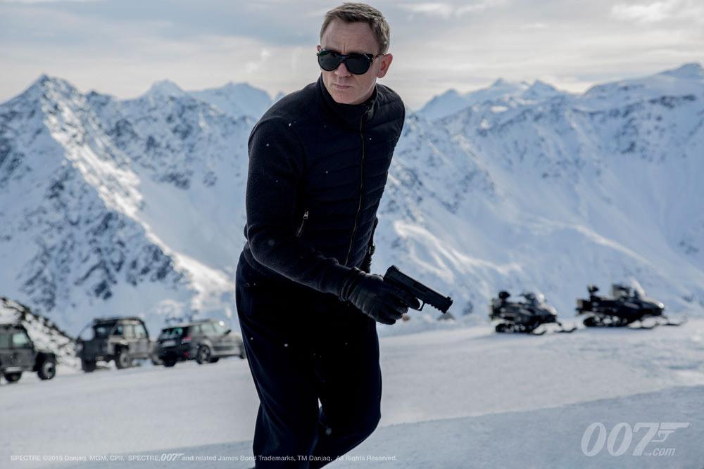 "Daniel Craig como James Bond en ""Spectre"" (MGM / Columbia Pictures / Albert R. Broccoli / Eon Productions)."