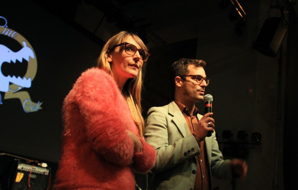 Desirée de Fez y Miqui Otero, comisarios del cilo Cine Low Cost.