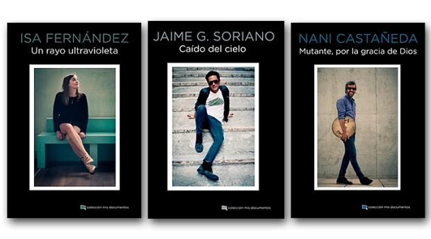 Últimas tres entregas de la colección Mis Documentos de Chelsea Ediciones.
