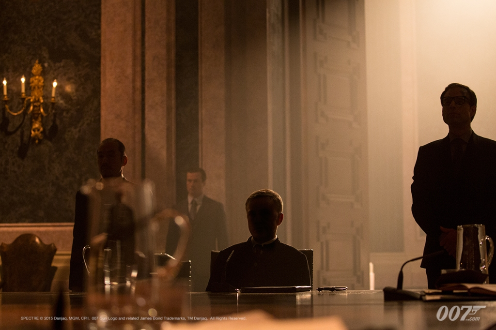 "Christoph Waltz como Franz Oberhauser en ""Spectre"" (MGM / Columbia Pictures / Albert R. Broccoli / Eon Productions)."