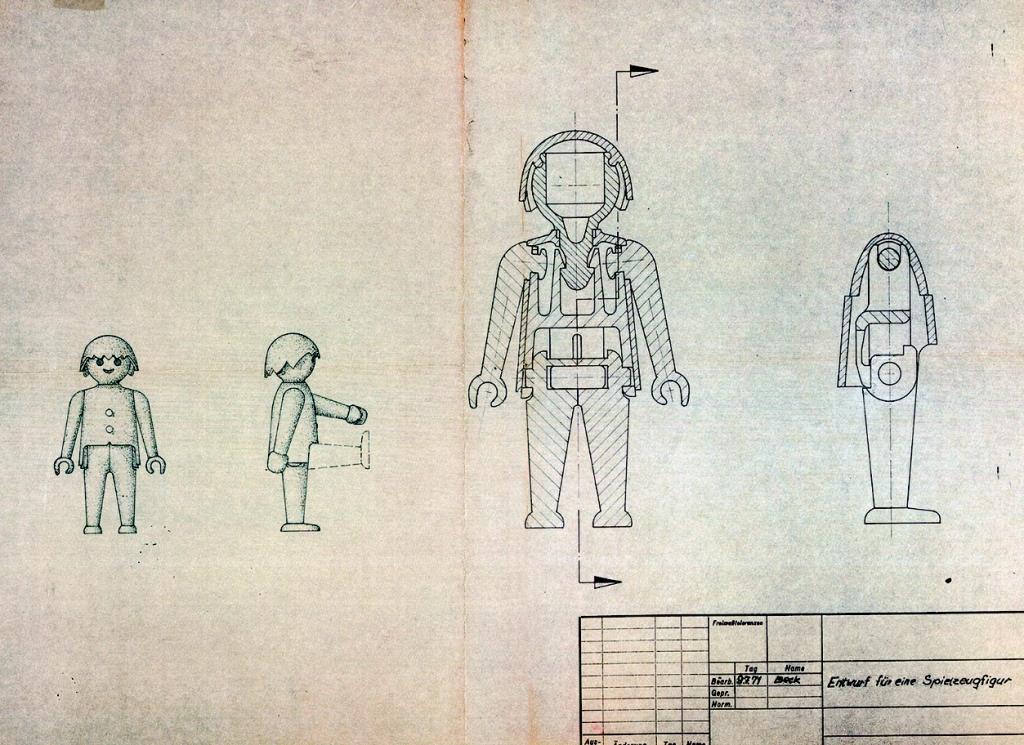 Boceto Playmobil
