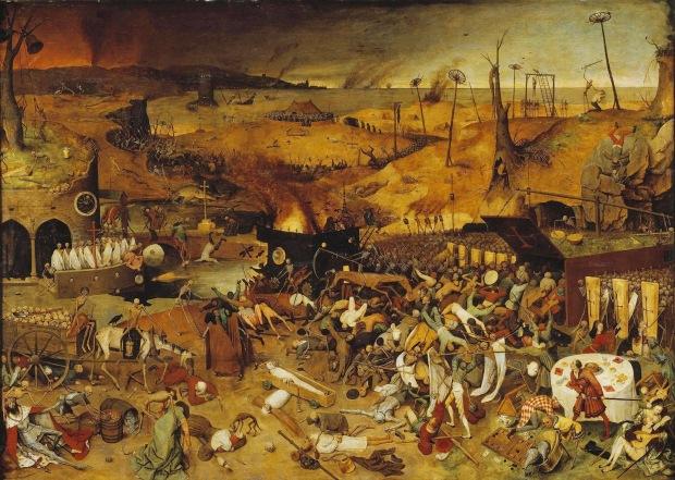 Brueghel Triunfo de la muerte