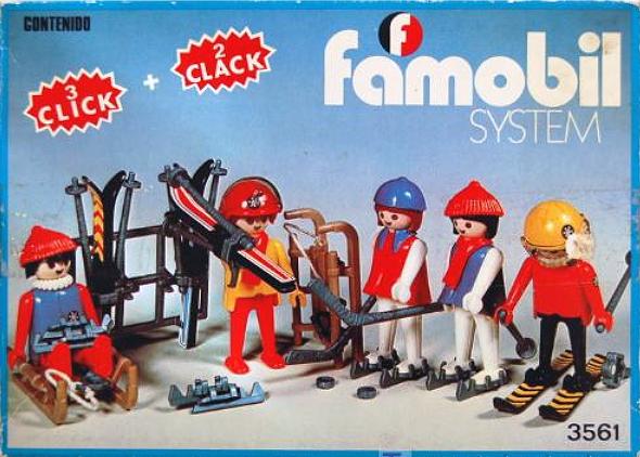 Famobil, comercializado en España por Famosa